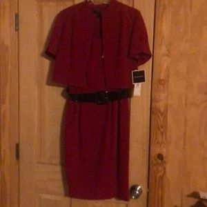 NWT 2 piece Red Dress